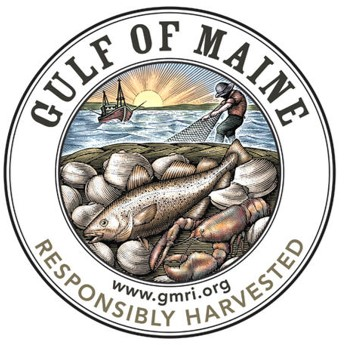 Gulf of Maine Responsibly Harvested Brand logo
