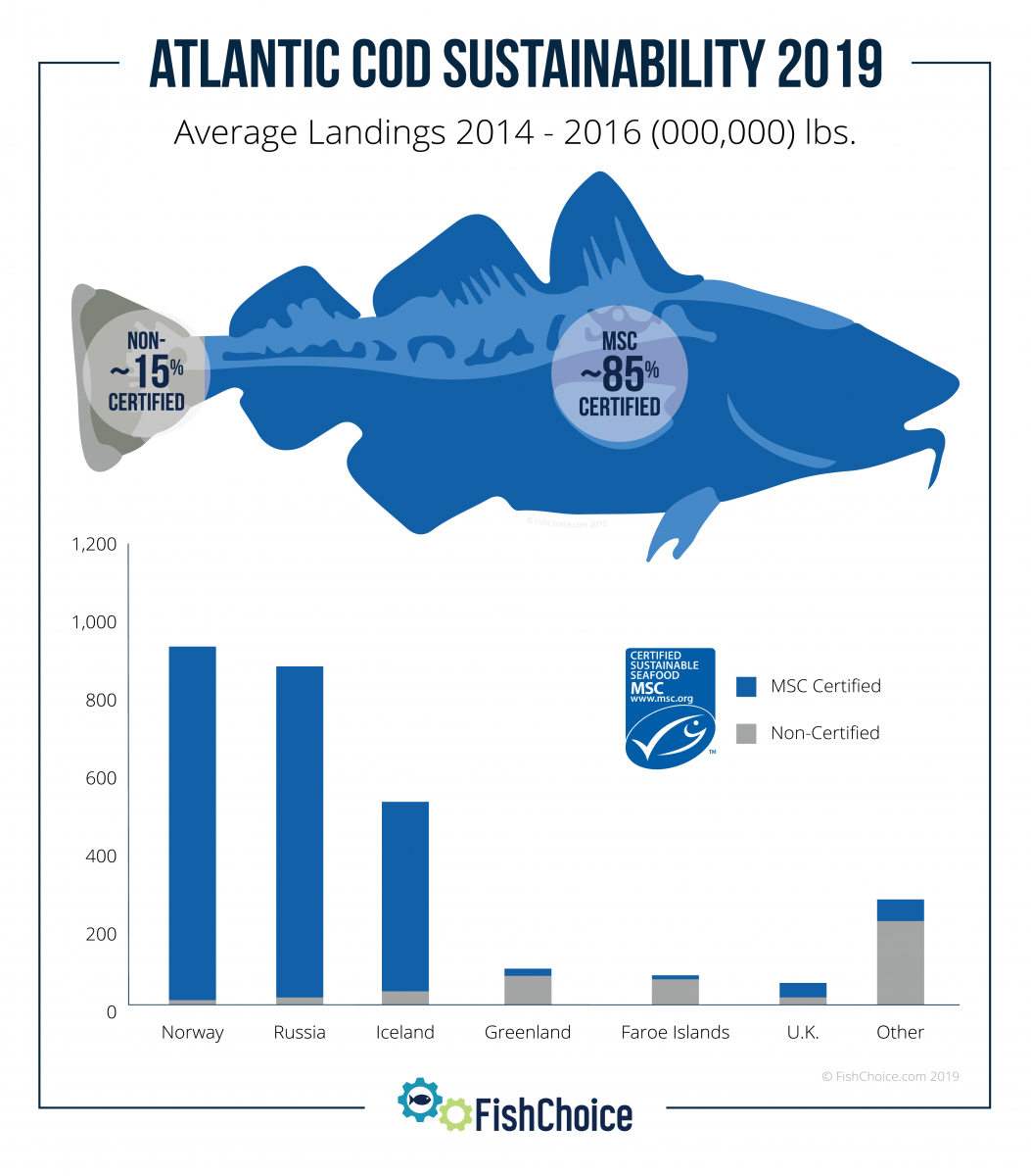 Atlantic Cod Sustainability