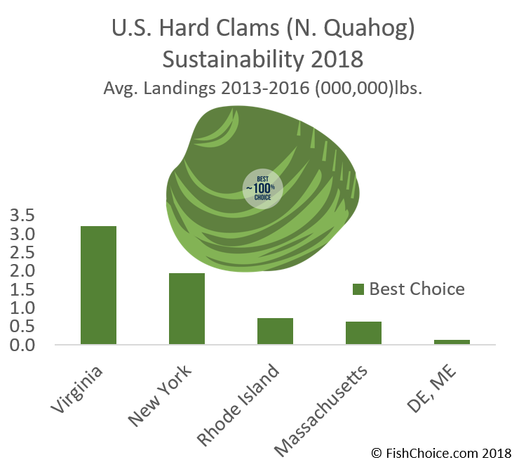 Hard Clam / Northern Quahog Sustainability